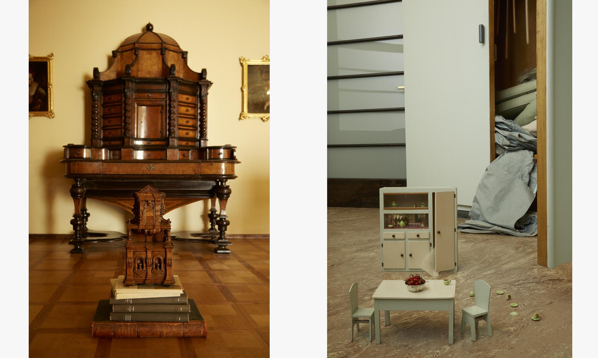 In Miniatura: Mobili e modelli in legno