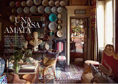 """Guido Taroni - Interiors: AD """"Una Casa Amata"""""""